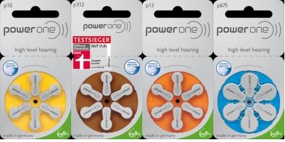 補聴器用空気電池の種類